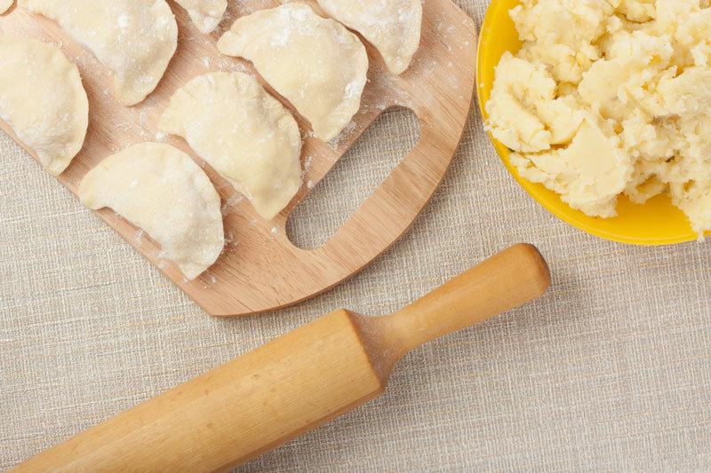 Диетическое тесто для вареников
