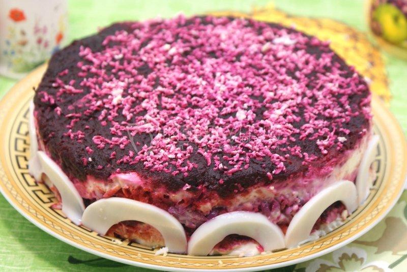 салат со свеклой рецепт с фото