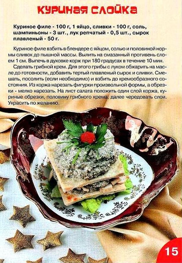 новые рецепты блюд с фото