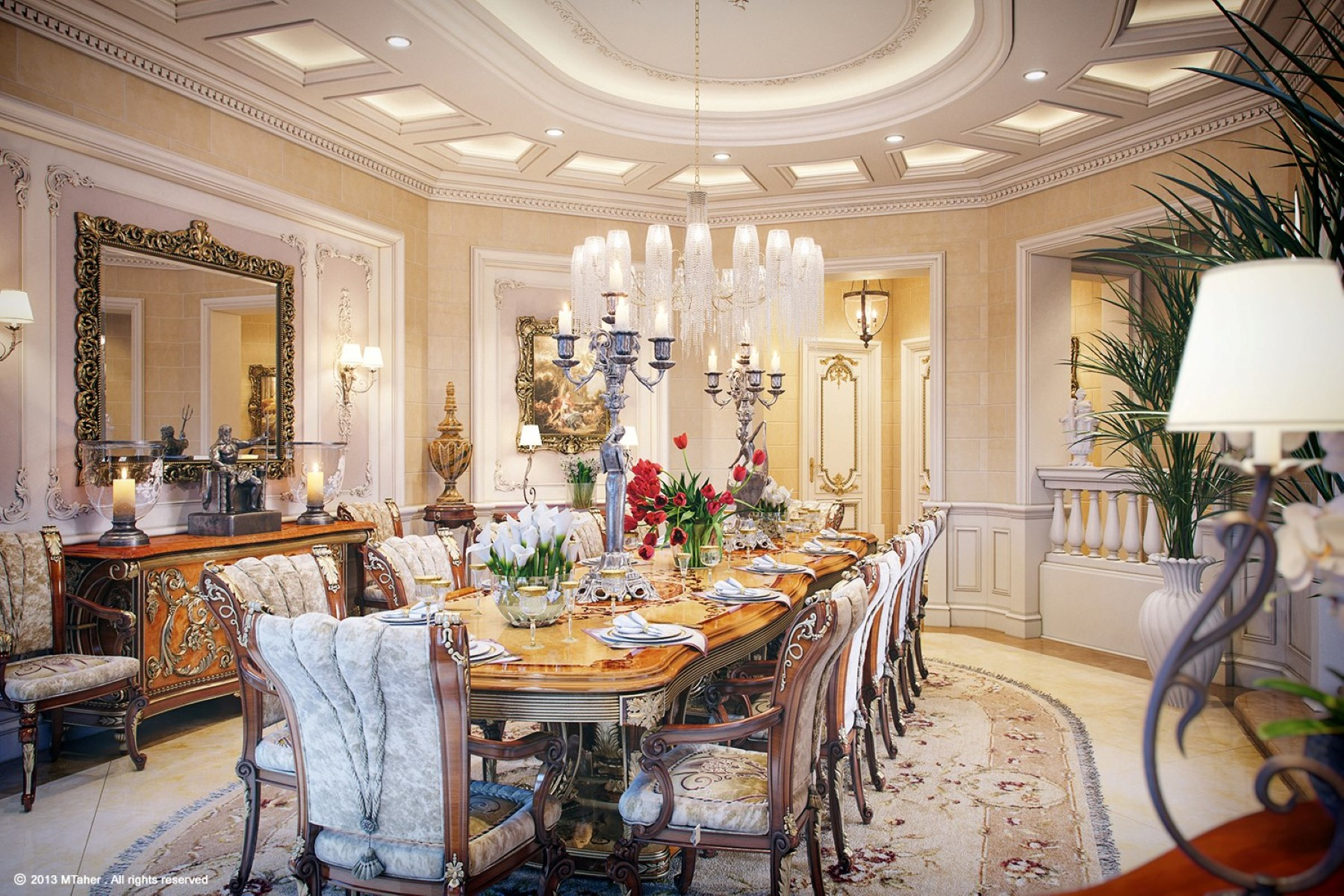 16 Impressive Dining Room Ceiling Designs Card From User Tstatnova In YandexCollections