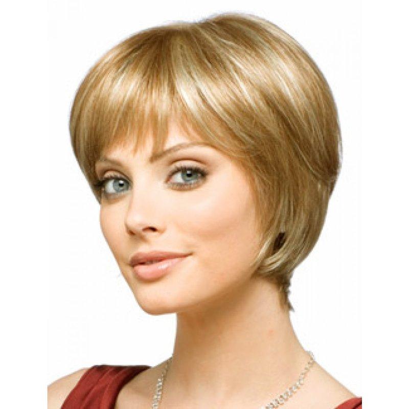 короткие стрижки женские на тонкие редкие волосы