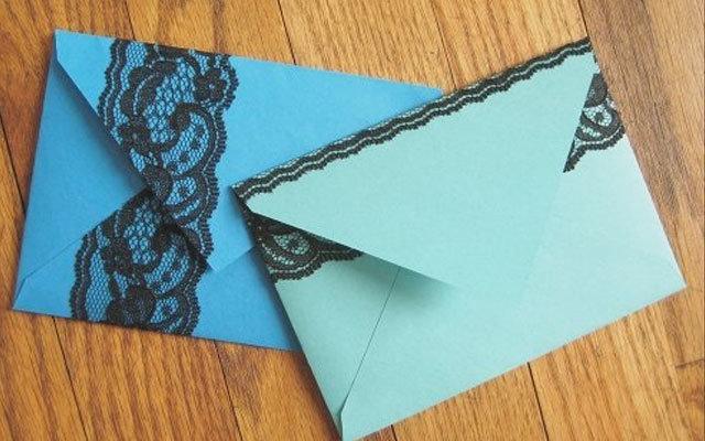 Красивая открытка из листа а4