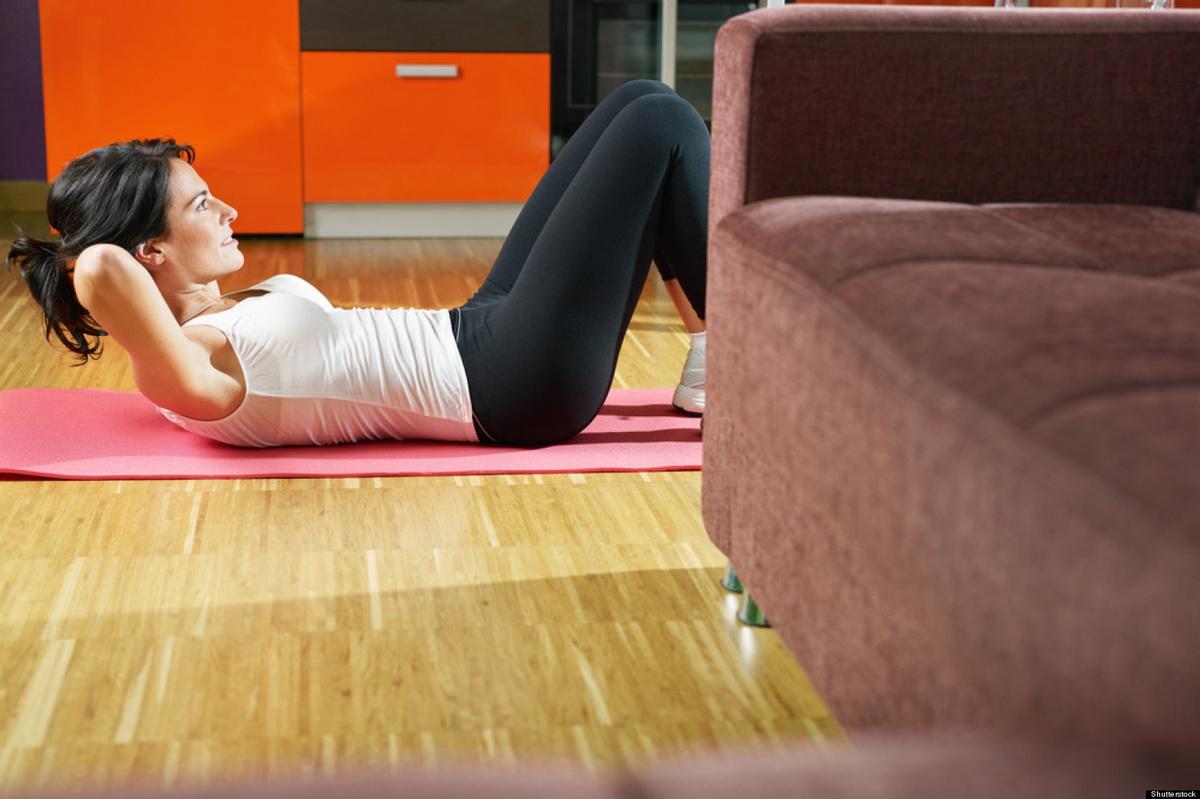Rutina de ejercicio en casa para adelgazar