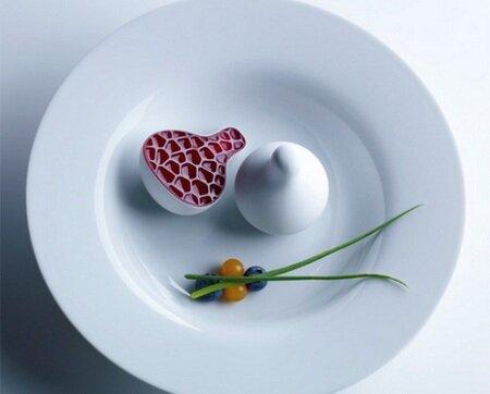 Блюда, приготовленные с помощью 3D-принтера Food Creation