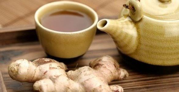 чай с имбирем рецепт, имбирный чай