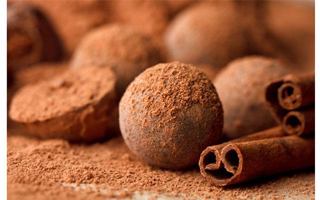 Домашние конфеты к Новому Году: Шоколадные трюфели