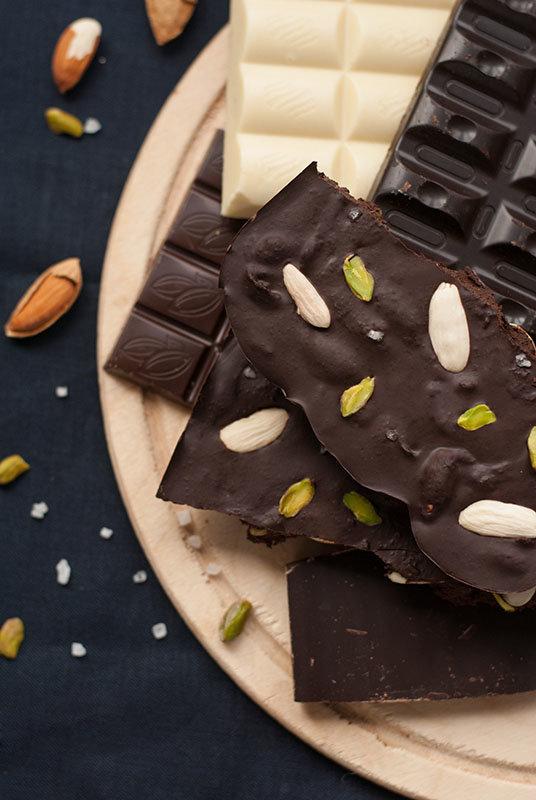 Домашний горький шоколад