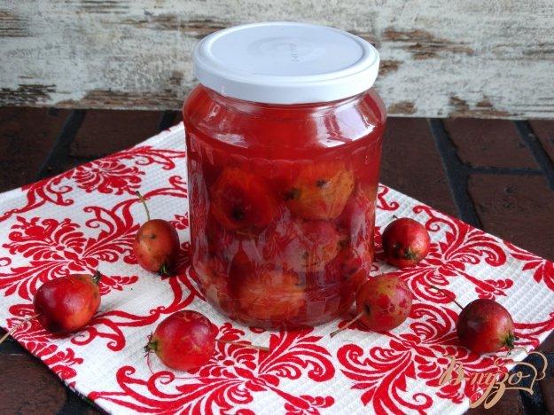 Компот из райских яблок на зиму - пошаговый рецепт с фото