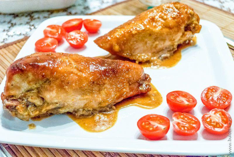 Куриное филе в горчице и меде рецепт в духовке