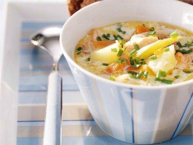 Lohikeitto - сливочный рыбный суп!