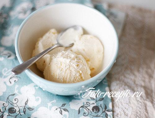 Мороженое ванильное классическое