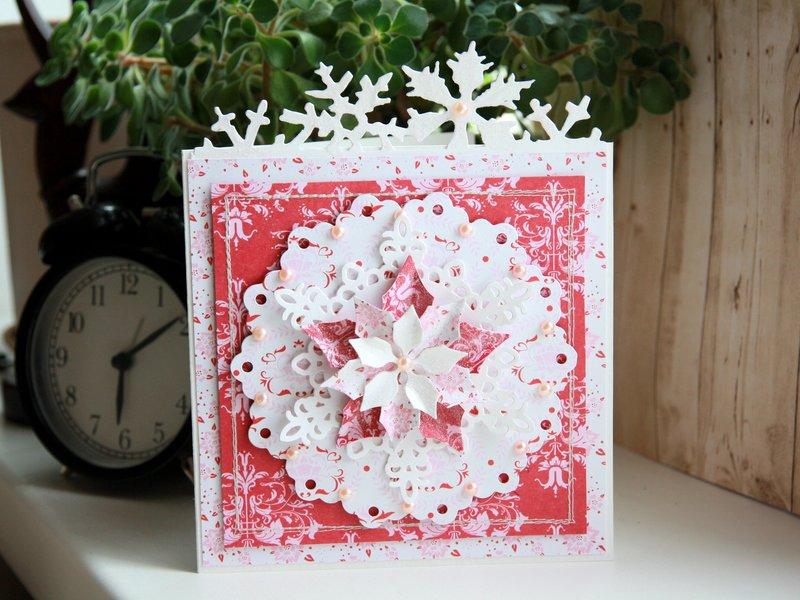 Новогодняя открытка своими руками - это просто!   elle-craft — творчество со вкусом!