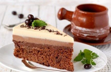 Новогодний торт «Три Шоколада»