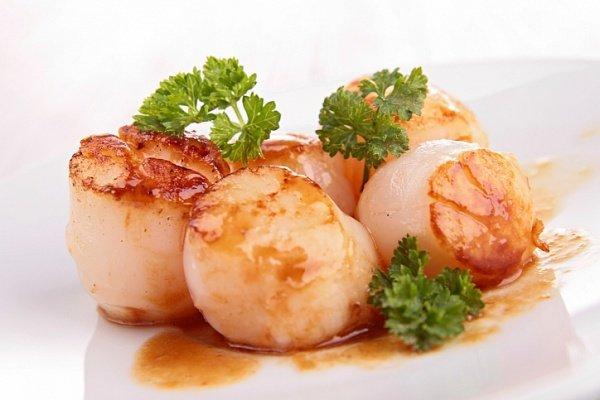 Оригинальные блюда из морских гребешков