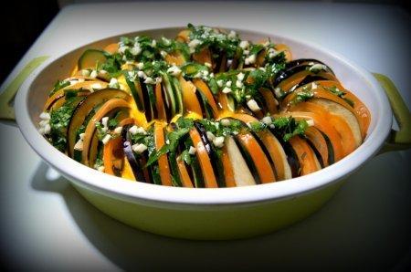 Овощное блюдо Рататуй