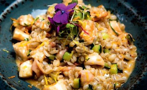 Перлотто с морепродуктами