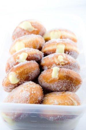 Пончики с лимонным кремом