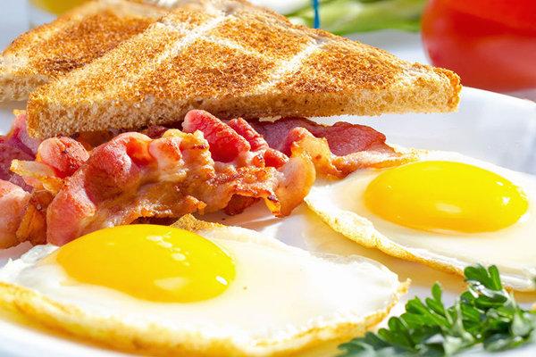 Привычный завтрак американца