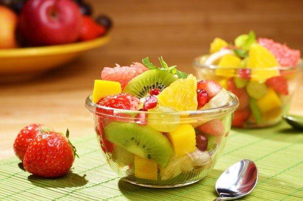 простой фруктовый салат рецепт с фото