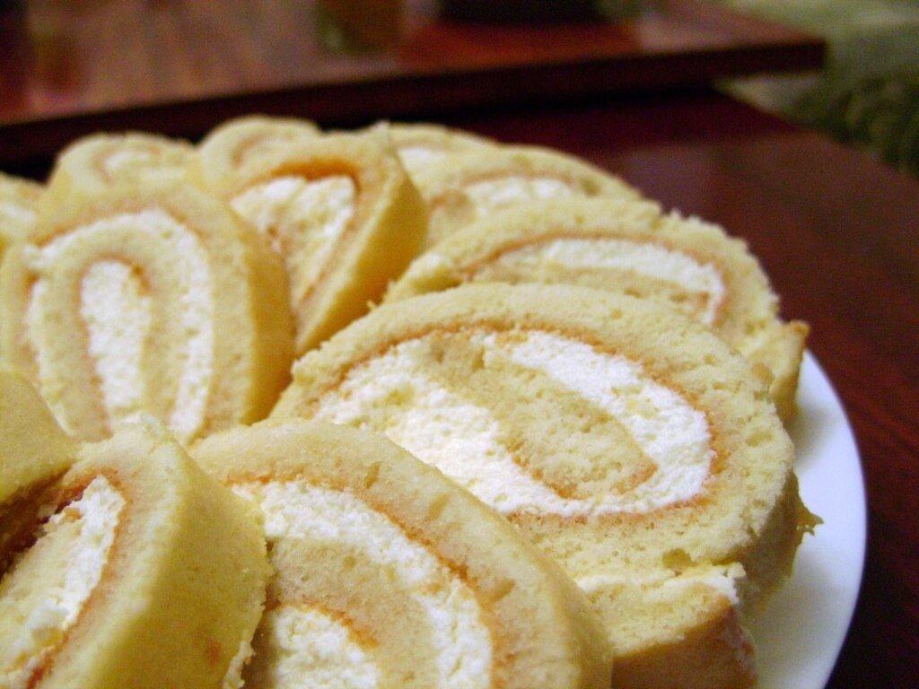 Крем для бисквитного рулета рецепт с фото