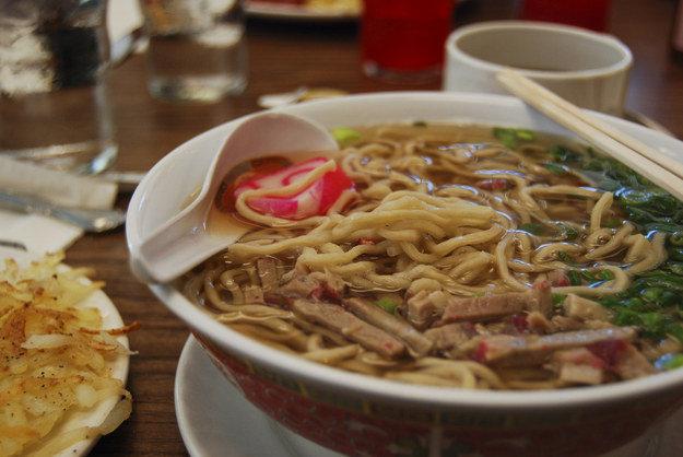 Саймин,  гавайская кухня, блюда