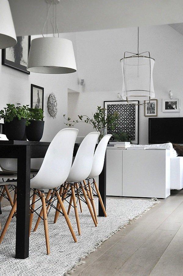 Скандинавский интерьер в квартире.