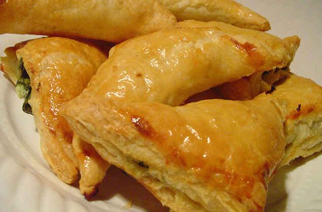 Слойки с сыром и картофелем