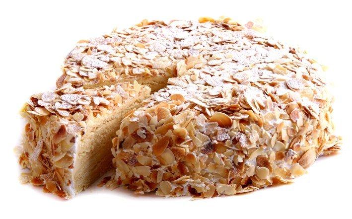 Торт из песочного печенья