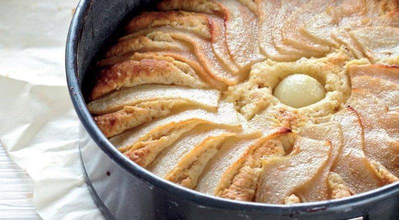 Торт с грушами и граппой