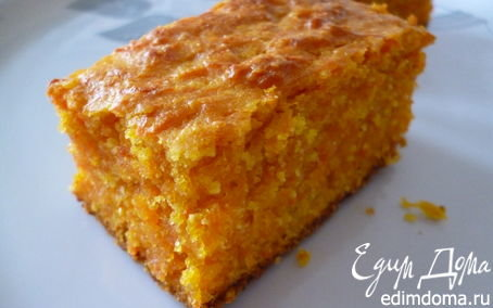 Пирог из моркови рецепт с фото