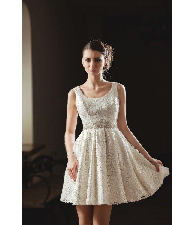 Короткое свадебное платье: Libby midi | Купить платье номер 283