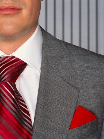 Нагрудный платок: каким он должен быть?