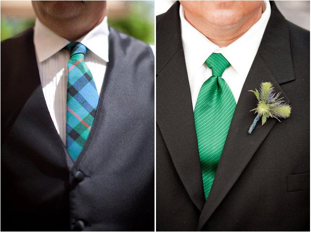 Шотландская свадьба shotlandskaya-svadba-galstuk-v-kletku-butonierka-chertopoloh – DiscoverWedding.ru