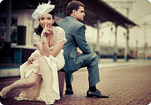 Свадьба в стиле ретро