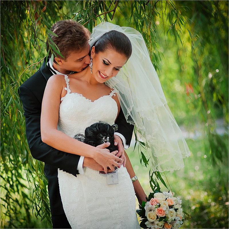 Свадебная прогулка в сентябре
