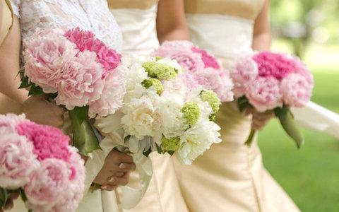 Цветы на свадьбу — Цветы в квартире