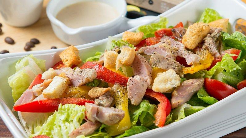 салаты из куриного мяса с фото