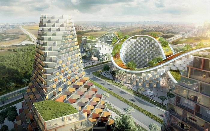 Istambul Summits - концепция жилого комплекса в Стамбуле.