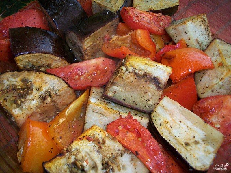 Запеченные овощи рецепт пошаговый с фото