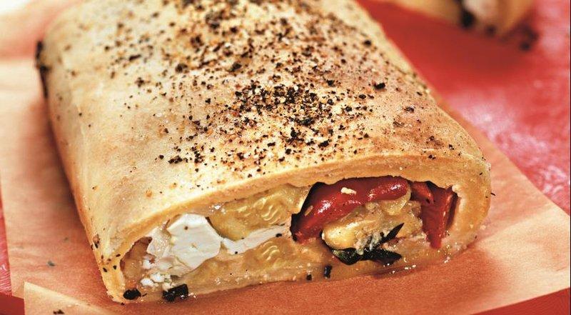 Итальянский овощной пирог.