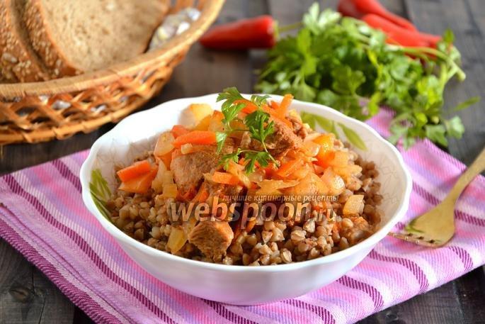 Овощное рагу с индейкой рецепт с фото