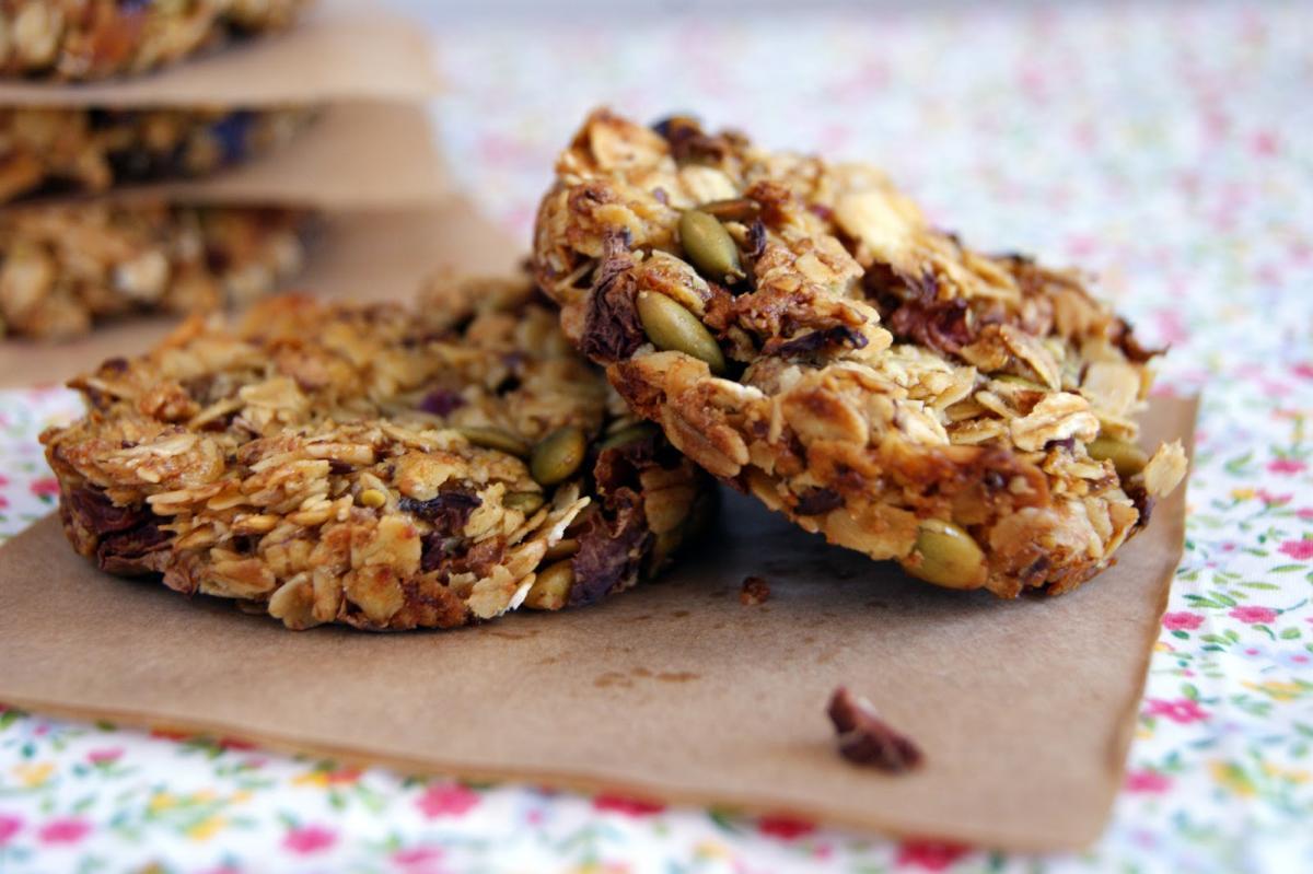 песочное печенье с мюслями рецепт с фото
