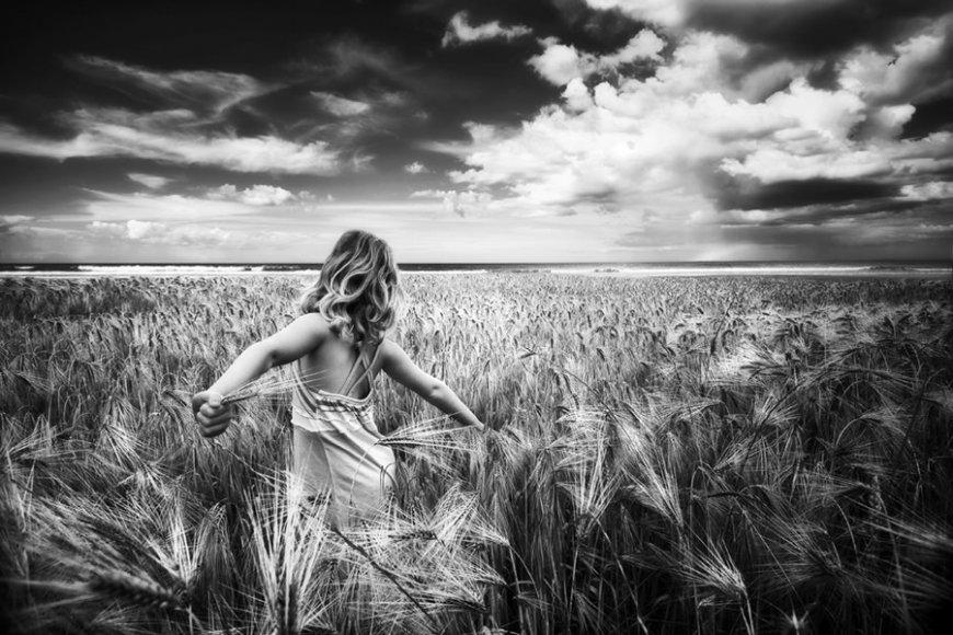 красивые картинки лето черно белое фотографа