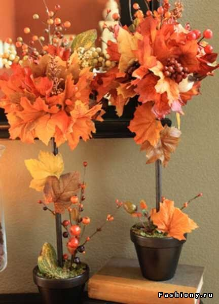 Осенние топиарии