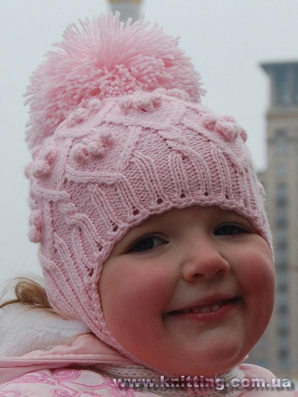 «шапки вязаные для детей, также как связать детскую ...