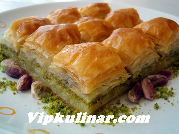 турецкая пахлава с фисташками рецепт с фото