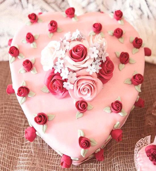 картинки торт сердечком на именины оформление наличии косой планкен