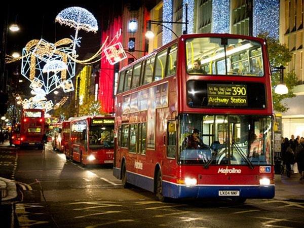 Лондон,Новый Год