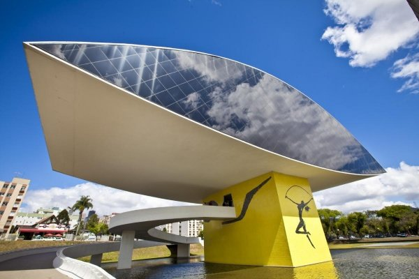 Музей Оскара Нимейера, Куритиба, Бразилия