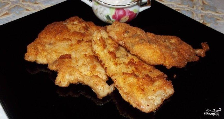 отбивные из куриного филе на сковороде рецепт с фото пошагово